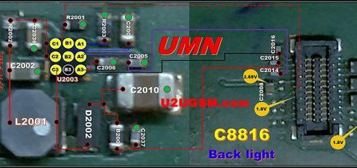 Huawei C8816 Display Light Solution