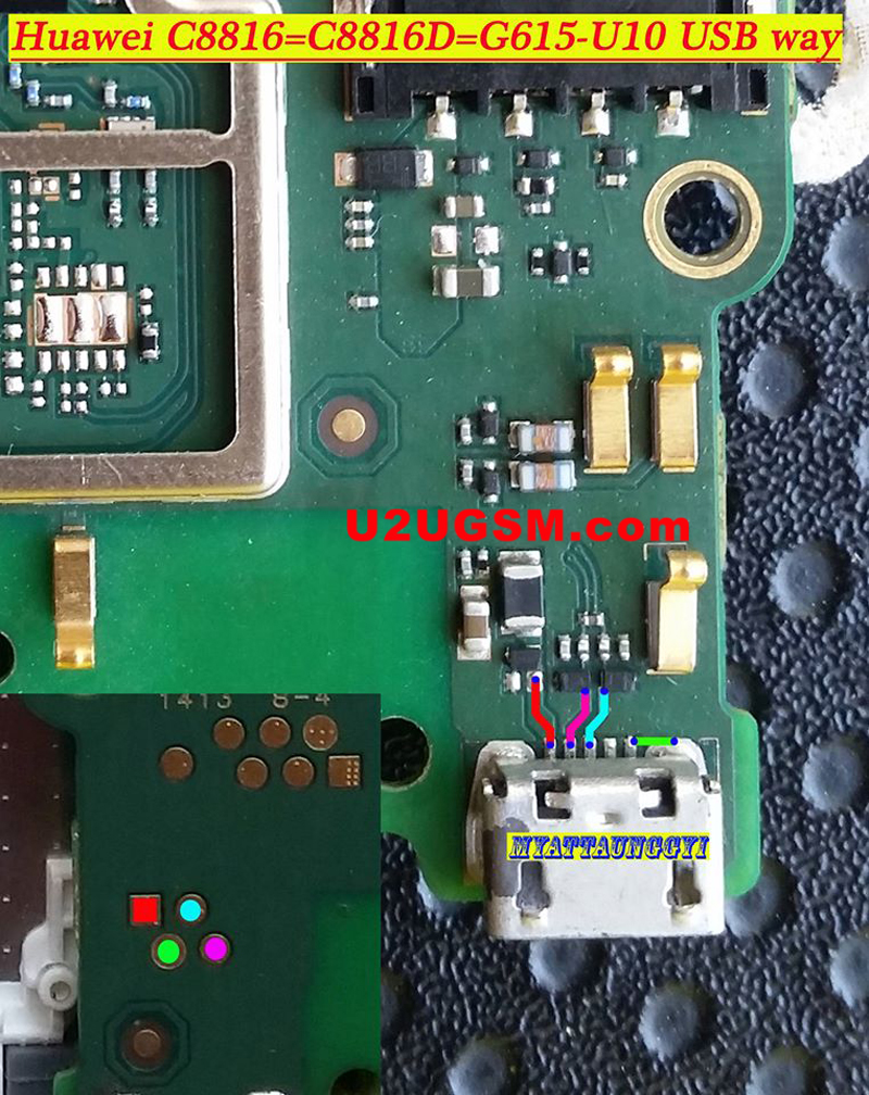 Huawei C8816d Usb Charging Problem Solution Jumper Ways