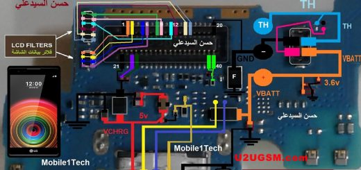 LG X Power K220 Charging Problem Solution Jumper Ways