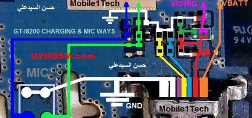 Samsung Galaxy S3 mini I8200 Charging Solution Jumper Problem Ways