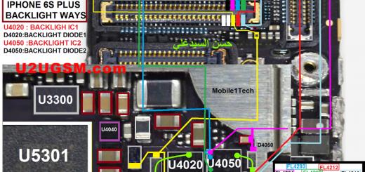 iPhone 6S Plus Display Light Solution Jumper Problem Ways
