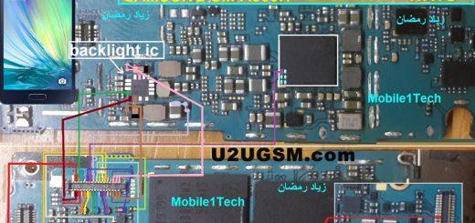 Samsung Galaxy A3 Display Light Solution