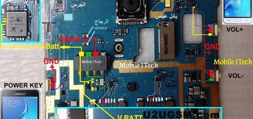 Samsung J1 J120 Volume Up Down Keys Not Working Problem Solution Jumpers