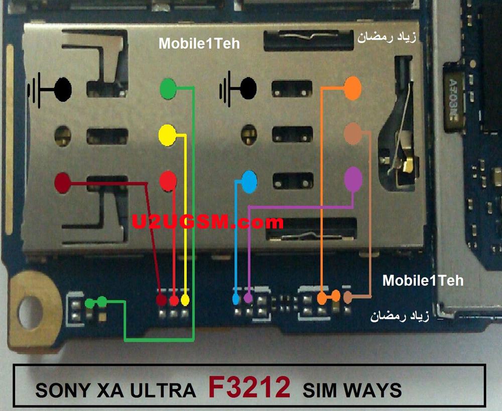 Sony Xperia Xa Ultra F3212 Insert Sim Card Problem Solution Jumper