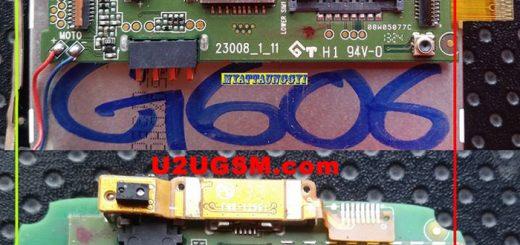 Huawei Ascend G606 Cell Phone Screen Repair Light Problem Solution Jumper Ways