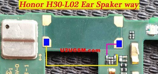 Huawei Honor 3C 4G Earpiece Solution Ear Speaker Problem Jumper Ways