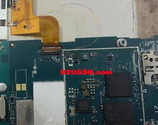 LG X137 Cell Phone Screen Repair Light Problem Solution Jumper Ways