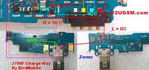 Samsung Galaxy J7 J700F Usb Charging Problem Solution Jumper Ways
