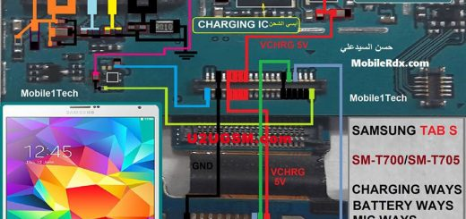 Samsung Galaxy Tab S 8.4 T700 Battery Connector Terminal Jumper Ways