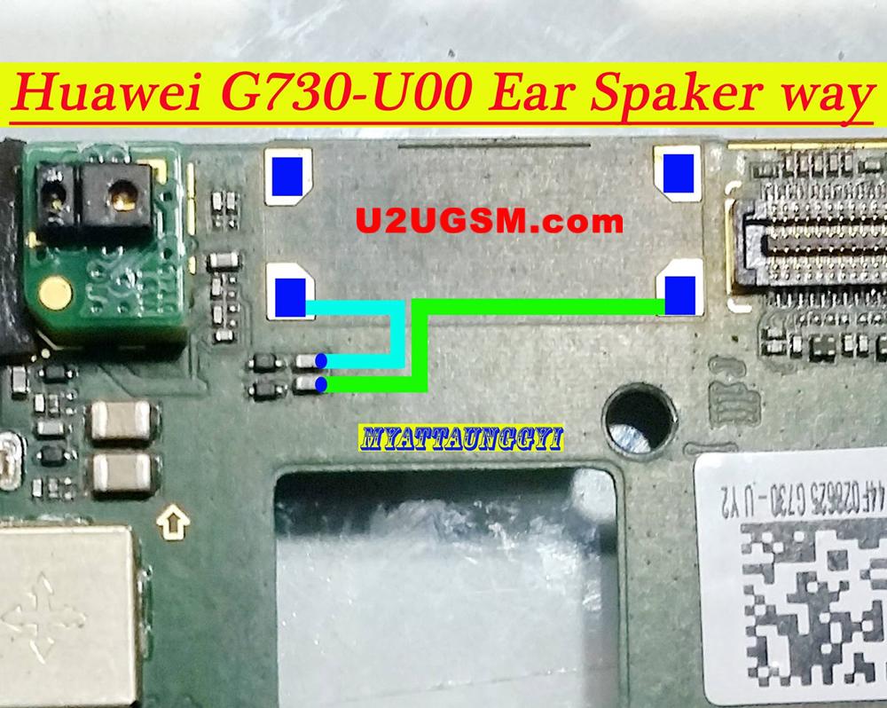 Huawei Ascend G730 Earpiece Solution Ear Speaker Problem Jumper Ways