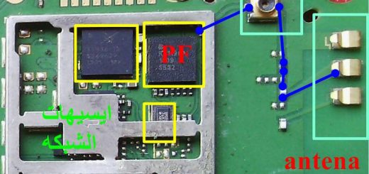 Huawei Ascend Y210 network problem signal solution jumpers