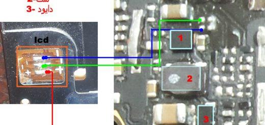 Huawei G630-U10 Cell Phone Screen Repair Light Problem Solution Jumper Ways