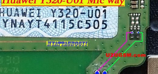 Huawei Y320-U01 Mic Problem Solution Microphone Not Working Jumpers Ways