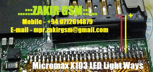 Micromax X103 Display Light Solution