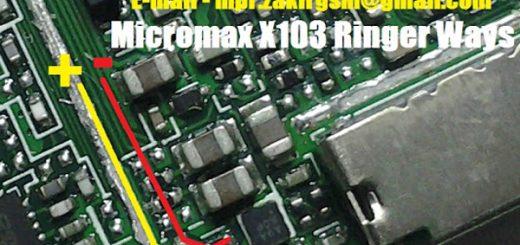 Micromax X103 Ringer Solution Jumper Problem Ways