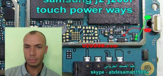 Samsung Galaxy J2 J200F Power Button Solution Jumper Ways