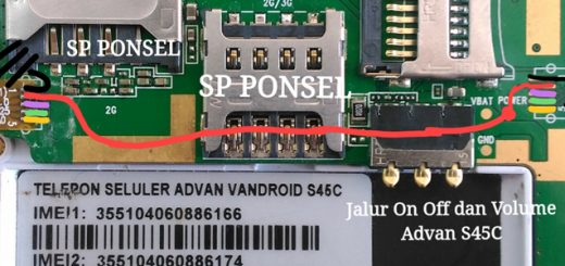 Harga Advan Star Fit S45C Power Button Solution Jumper Ways