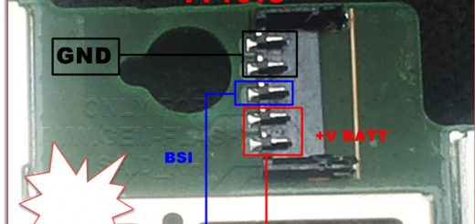 Huawei MediaPad T1- 701U Battery Connector Terminal Jumper Ways
