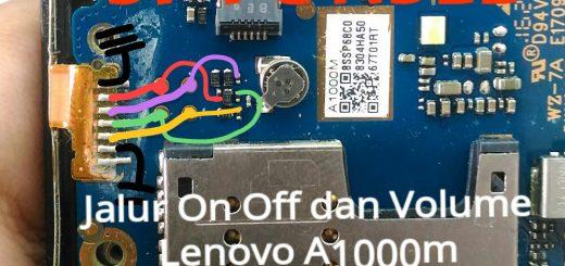Lenovo A1000m Power Button Solution Jumper Ways