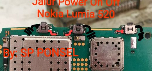 Nokia Lumia 520 Power Button Solution Jumper Ways