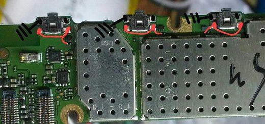 Nokia X Power Button Solution Jumper Ways