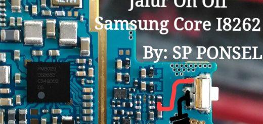 Samsung Galaxy Core I8260 Power Button Solution Jumper Ways