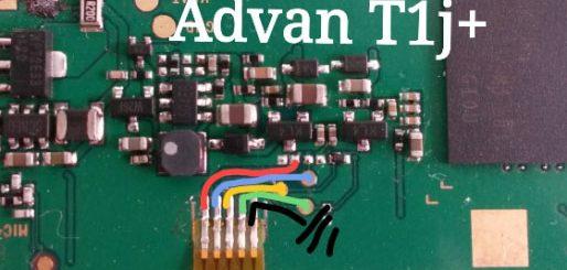 Advan Vandroid T1J+ Power Button Solution Jumper Ways