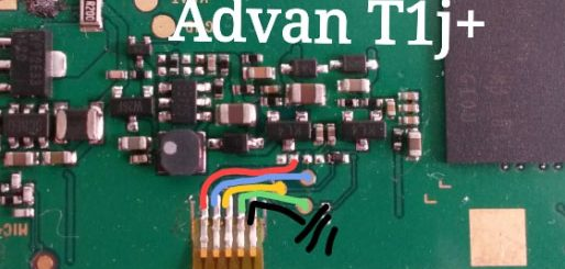 Advan Vandroid T1J+ Volume Up Down Keys Not Working Problem Solution Jumpers