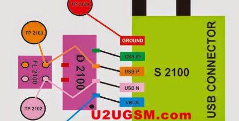 BlackBerry Curve 9220 Usb Charging Problem Solution Jumper Ways
