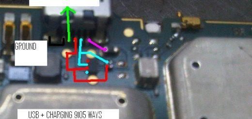 BlackBerry Pearl 3G 9105 Charging Problem Solution Jumper Ways
