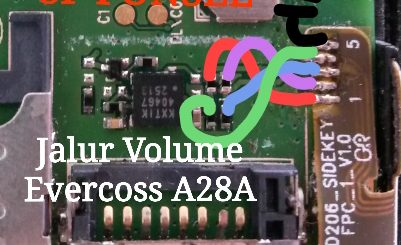 Evercoss A28A Volume Up Down Keys Not Working Problem Solution Jumpers