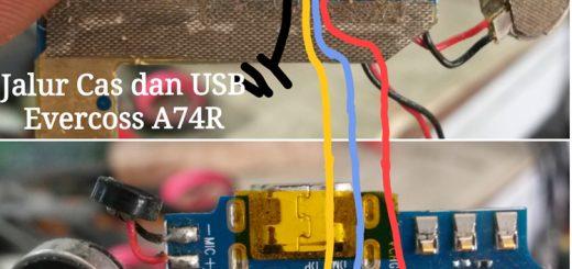 Evercoss A74R Winner x2 Usb Charging Problem Solution Jumper Ways