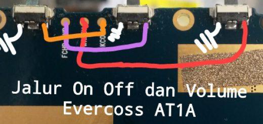 Evercoss AT1A Power Button Solution Jumper Ways