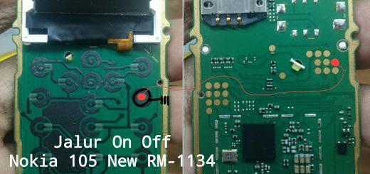 Nokia 105 Power Button Solution Jumper Ways