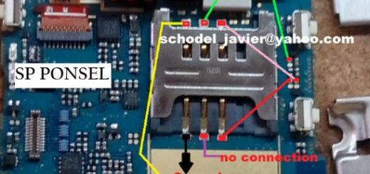 Samsung C3303 Insert Sim Card Problem Solution Jumper Ways
