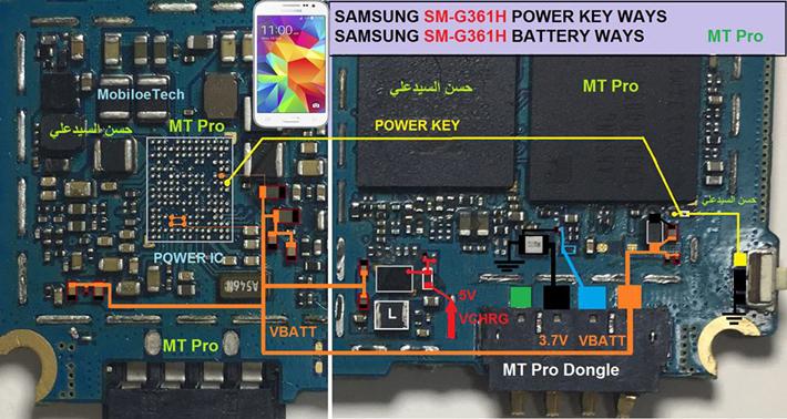 Samsung Galaxy Core Prime G361h Power Button Solution