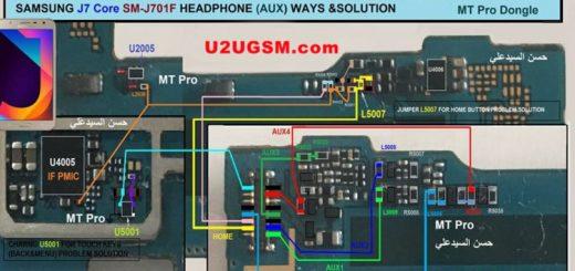 Samsung Galaxy J7 Core J701F Hands Free Jumper Solution Headphone Jack Ways