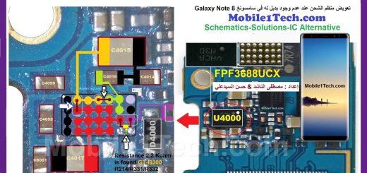 Samsung Galaxy Note 8 N950U Charging Problem Solution Jumper Ways