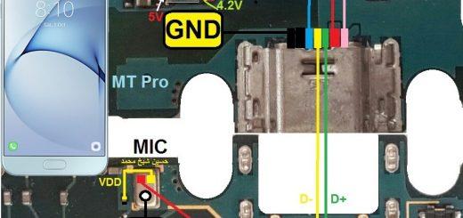 Samsung Galaxy A8 (2016) Charging Problem Solution Jumper Ways No Charging