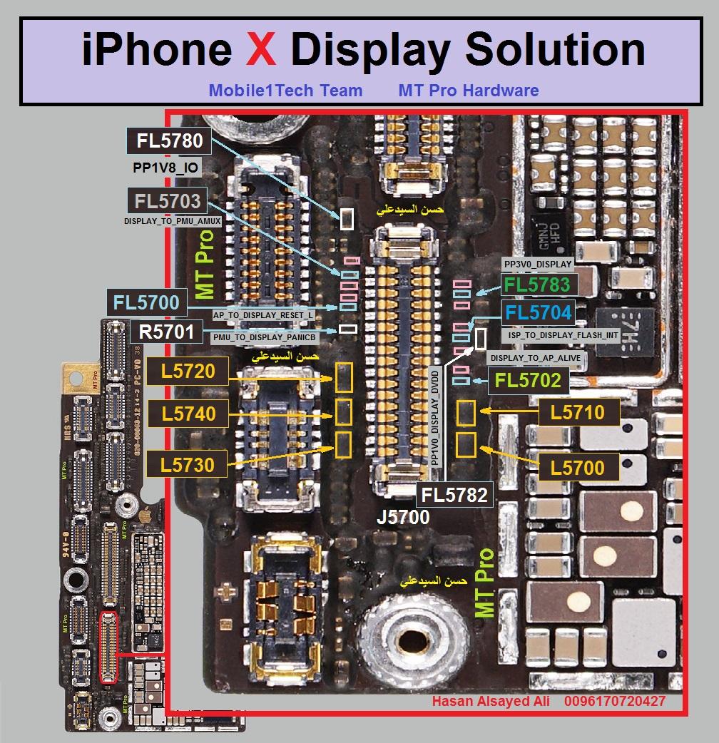 iPhone X Display Problem Solution Jumper Ways
