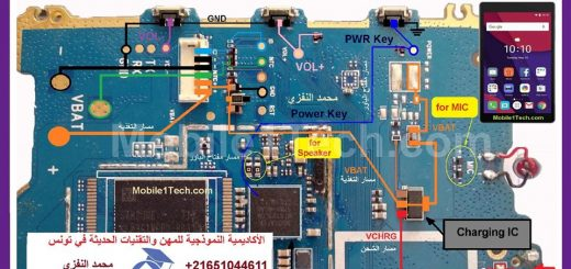 Alcatel Pixi 4 Battery Connector Terminal Jumper Ways