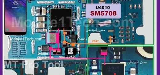 Samsung Galaxy A6 Plus 2018 A605F Charging Solution Jumper Problem Ways