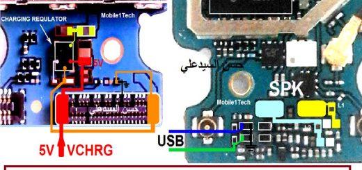 Samsung Galaxy C5 C5000 Charging Problem Solution Jumper Ways