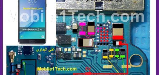 Samsung Galaxy C7 Pro C7010 Battery Connector Terminal Jumper Ways
