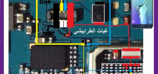 Samsung Galaxy S6 Edge Plus G928 Battery Connector Terminal Jumper Ways