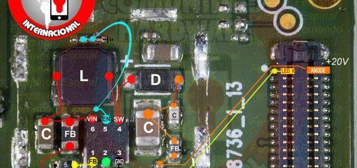 Motorola Moto C Cell Phone Screen Repair Light Problem Solution Jumper Ways