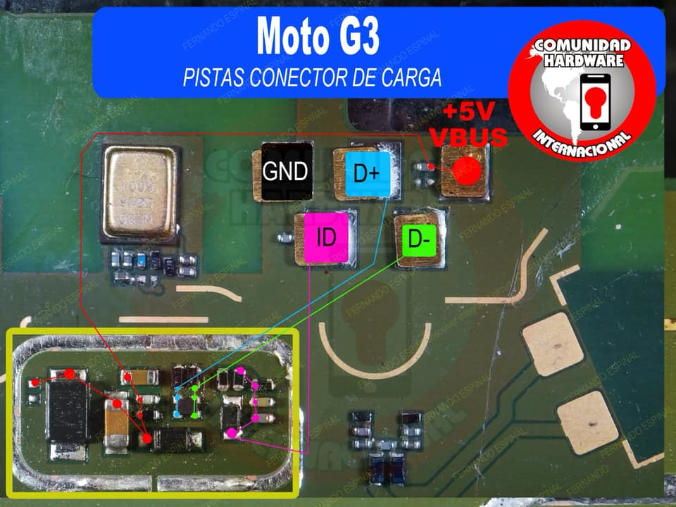 Motorola Moto G3 Charging Solution Jumper Problem Ways