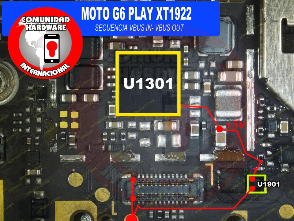 Motorola Moto G6 Play Charging Solution Jumper Problem Ways