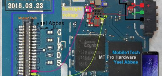 Samsung Galaxy J4 J400F Battery Connector Terminal Jumper Ways