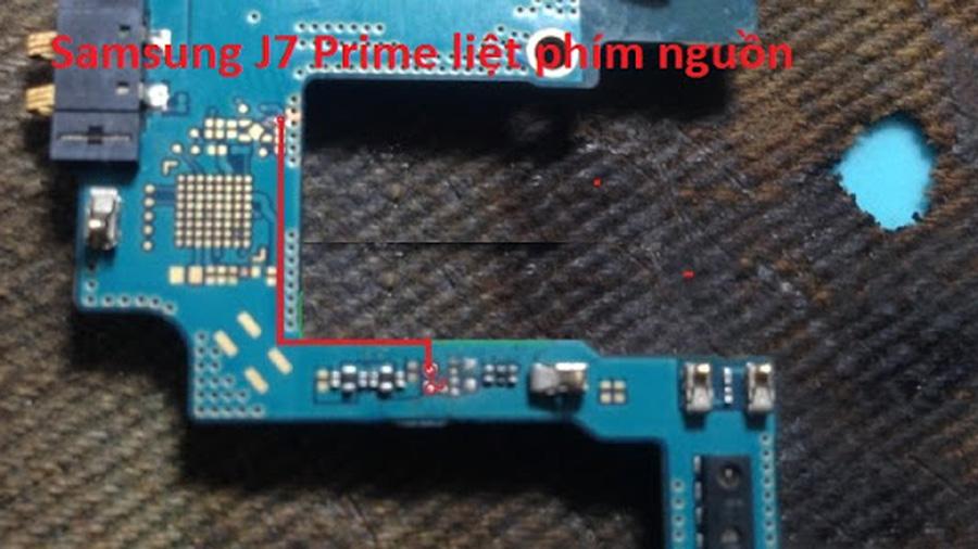 Samsung Galaxy J7 Prime Power Button Solution Jumper Ways